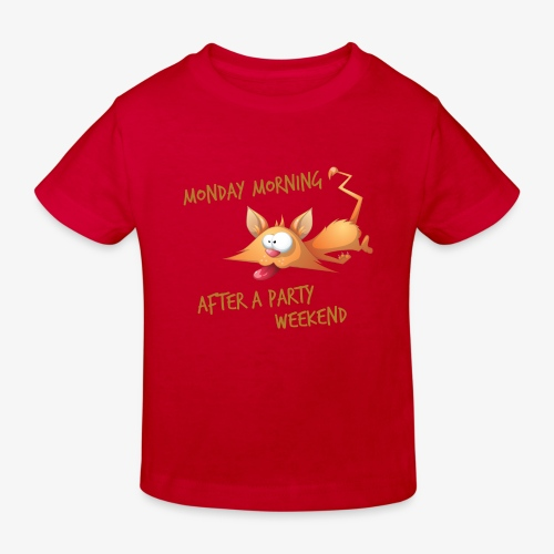 Lundi Matin - Monday Morning - Kids' Organic T-Shirt
