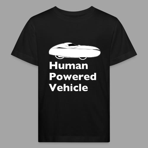 Quest Human Powered Vehicle 2 white - Lasten luonnonmukainen t-paita