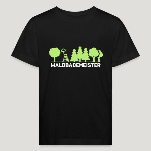 Waldbademeister fürs Waldbaden und Waldbad - Kinder Bio-T-Shirt