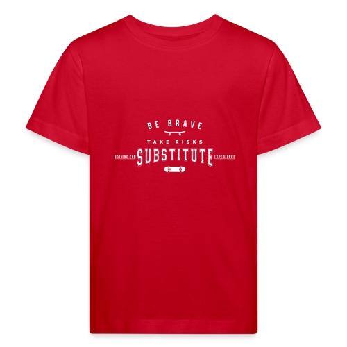 skateboard - Ekologiczna koszulka dziecięca