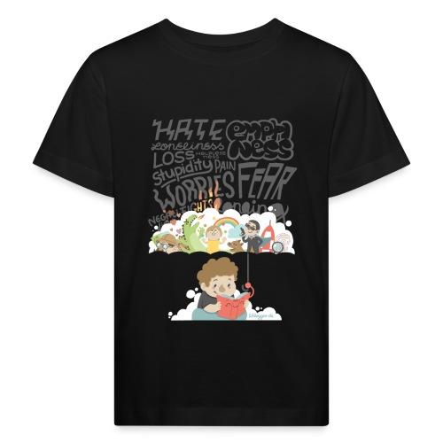 Bücher sind Freunde - Kinder Bio-T-Shirt