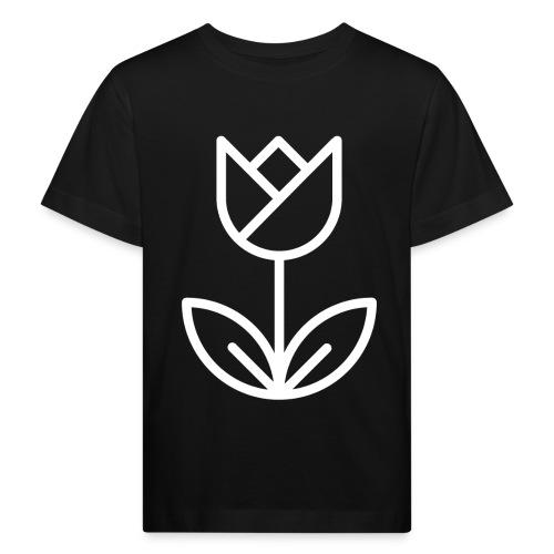 Tulip white png - Kids' Organic T-Shirt