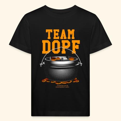 Dutch Oven T-Shirt Team Dopf - Kinder Bio-T-Shirt