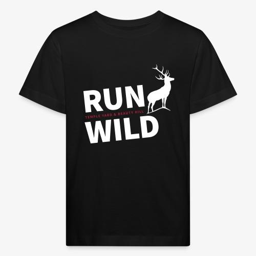 RUN WILD Temple Yard & Beauty Hill - Kinder Bio-T-Shirt