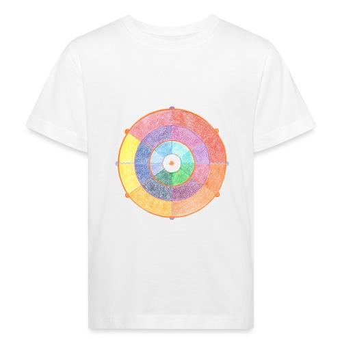 Creativity Rainbow originale png - Maglietta ecologica per bambini
