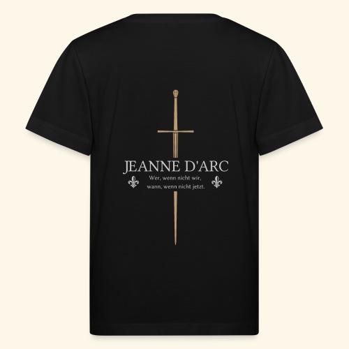 Jeanne d arc - Kinder Bio-T-Shirt