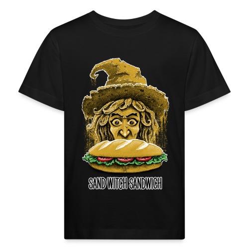 Sand Witch Sandwich V1 - Kids' Organic T-Shirt
