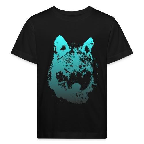 illustration tete de loup - T-shirt bio Enfant