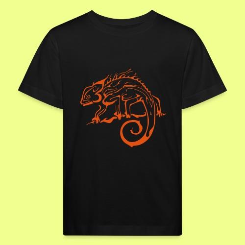 iguana - Camiseta ecológica niño