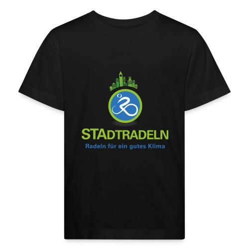 STAdtradeln Logo quadratisch Pixel - Kinder Bio-T-Shirt