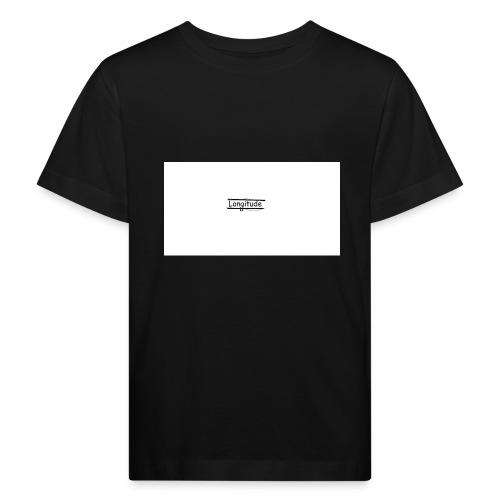 longitude - Kids' Organic T-Shirt