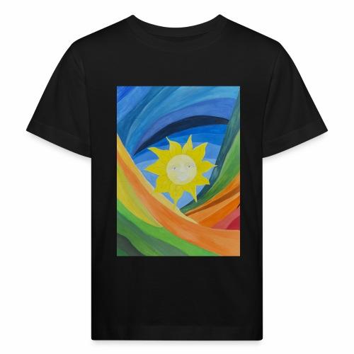 lachende-sonne - Kinder Bio-T-Shirt
