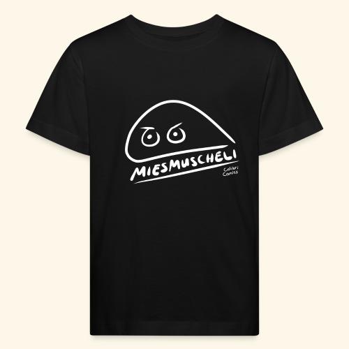 Miesmuscheli Kontrast - Kinder Bio-T-Shirt