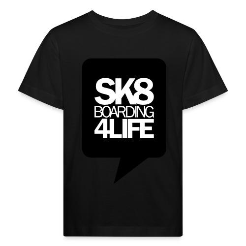 tshirtbackblack - Kinder Bio-T-Shirt