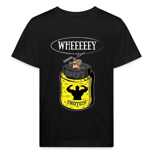 Escargot Wheeeeeeey - T-shirt bio Enfant