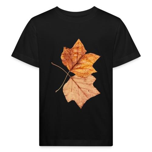 Blätter - Kinder Bio-T-Shirt