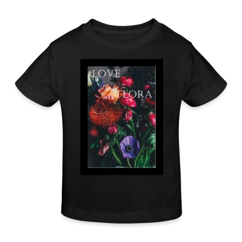 Love Flora - Kinder Bio-T-Shirt
