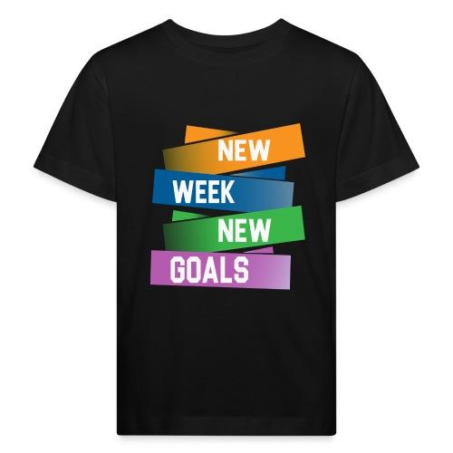 new week - T-shirt bio Enfant