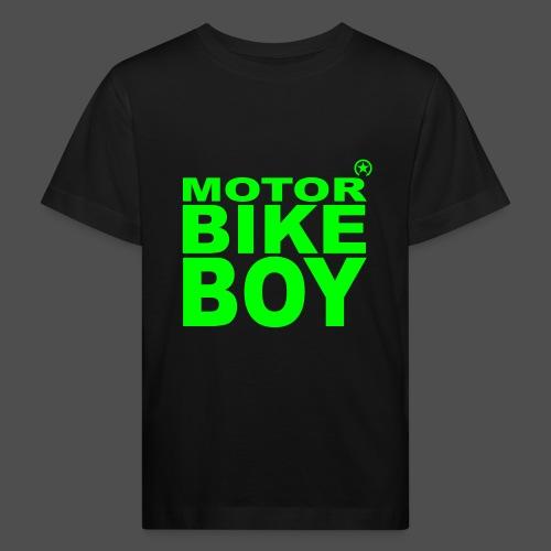 Motorbike Boy - Ekologiczna koszulka dziecięca
