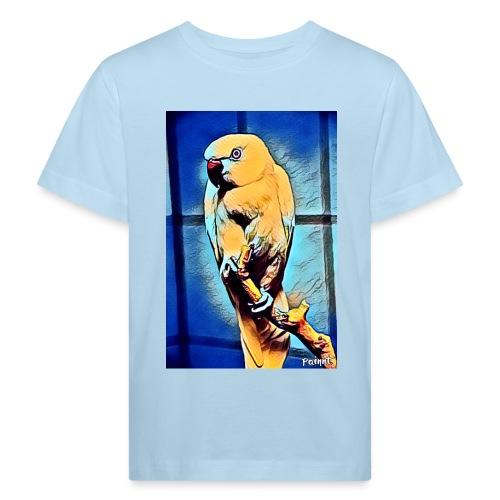 Bird in color - Lasten luonnonmukainen t-paita