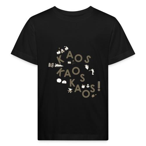 KAOSKAOSKAOS - Økologisk T-skjorte for barn