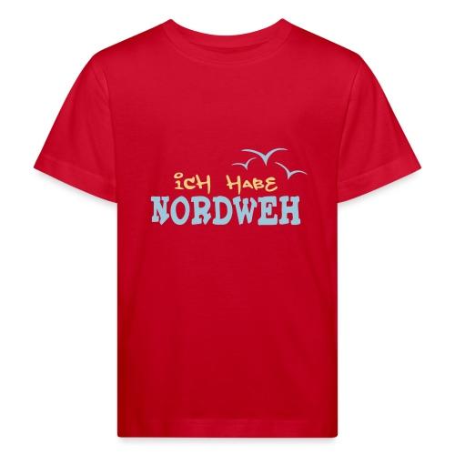 Ich habe Nordweh - Kinder Bio-T-Shirt