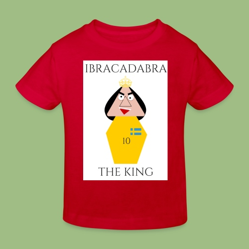 IBRACADABRA - THE KING - Ekologisk T-shirt barn