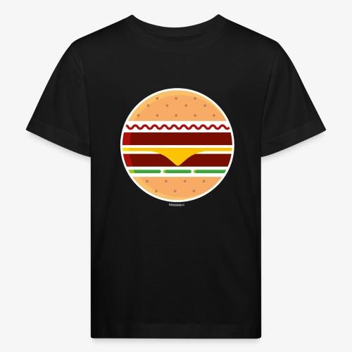 Circle Burger - Maglietta ecologica per bambini