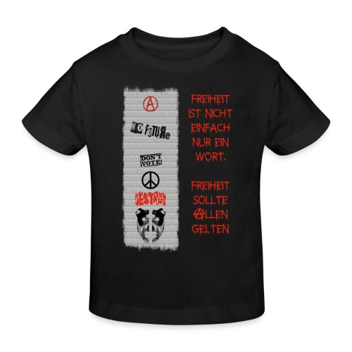 FREIHEIT - Kinder Bio-T-Shirt