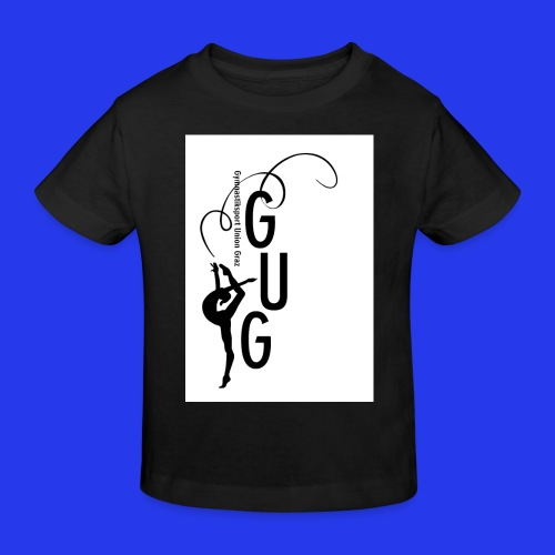 GUG logo - Kinder Bio-T-Shirt