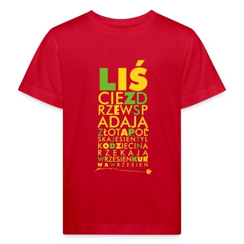 Wrzesień - Ekologiczna koszulka dziecięca