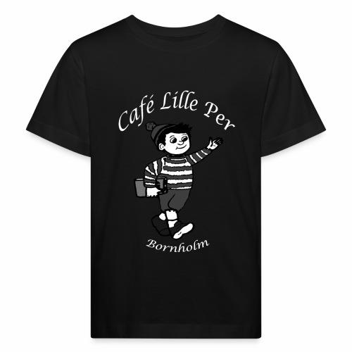 Cafe LillePer Logo BW - Organic børne shirt
