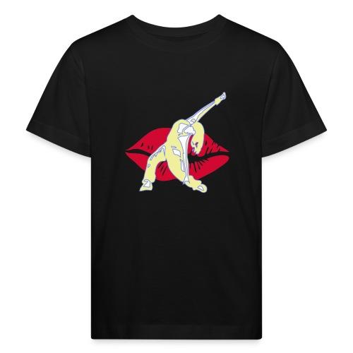 DanceLipps Beige - Kinder Bio-T-Shirt