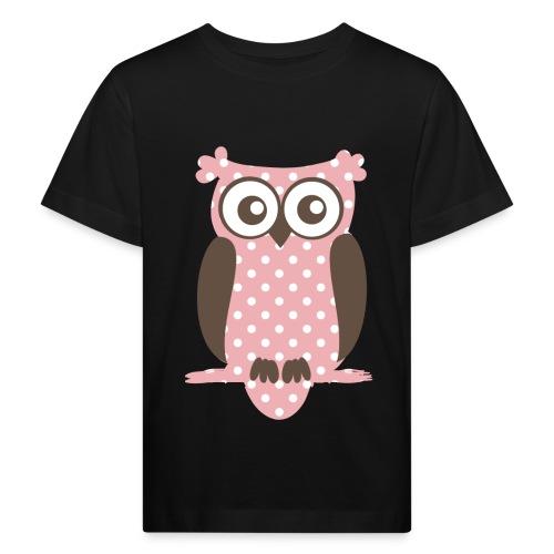 Eule - Kinder Bio-T-Shirt
