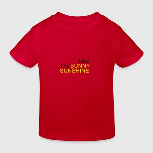 Sunny Sunshine... - Kinderen Bio-T-shirt