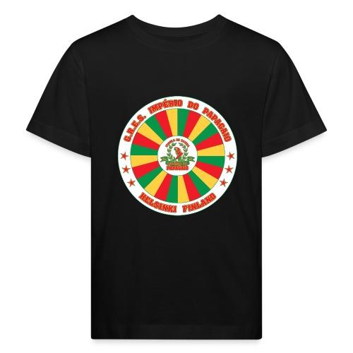 Papagaio drum logo - Lasten luonnonmukainen t-paita
