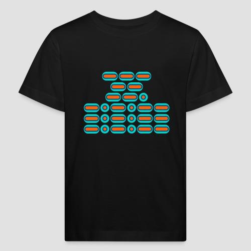 OMG!!! (orange/blue) - Kids' Organic T-Shirt