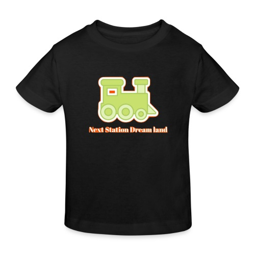 Next Station Dream country - Kids' Organic T-Shirt