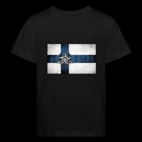 Suomen lippu - Lasten luonnonmukainen t-paita