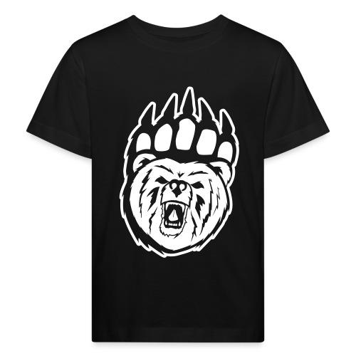 Dam T-shirt Svart/Rosa - Ekologisk T-shirt barn