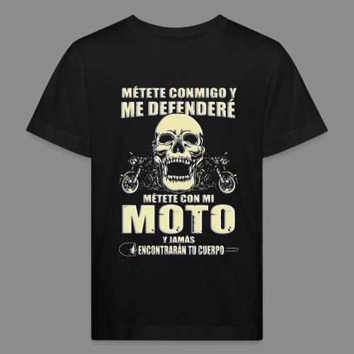 Me defenderé - Camiseta ecológica niño