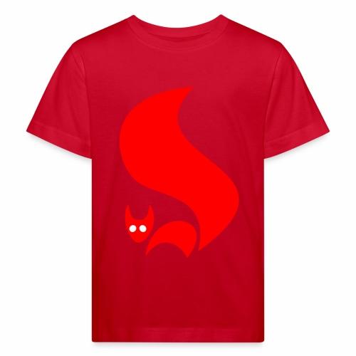 Eichhörnchen - Kinder Bio-T-Shirt