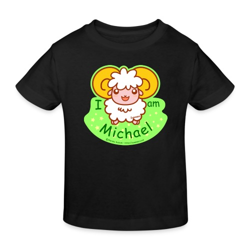 I am Michael - Kids' Organic T-Shirt