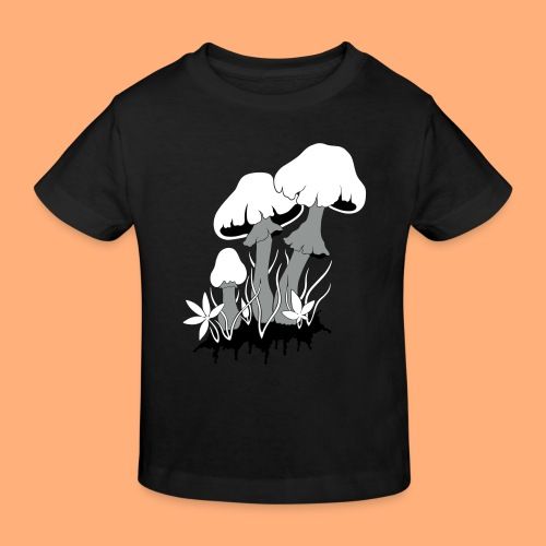 champignons - T-shirt bio Enfant