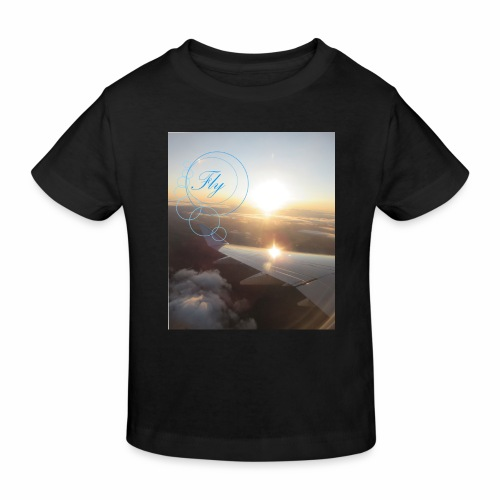 Fly - Kinderen Bio-T-shirt