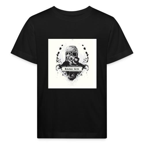 KOLMAS GETO LOGO VALMIS ISO RESOLUUTIO - Lasten luonnonmukainen t-paita