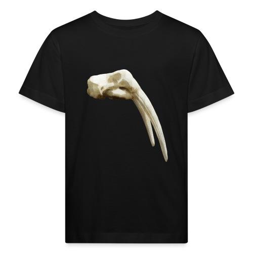 Schedel van een walrus - Kinderen Bio-T-shirt