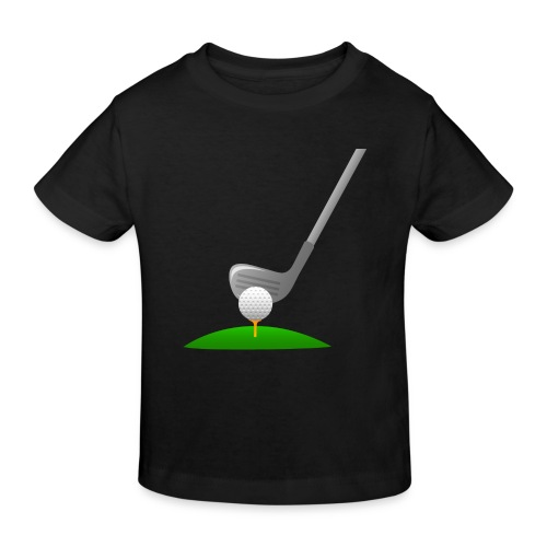 Golf Ball PNG - Camiseta ecológica niño