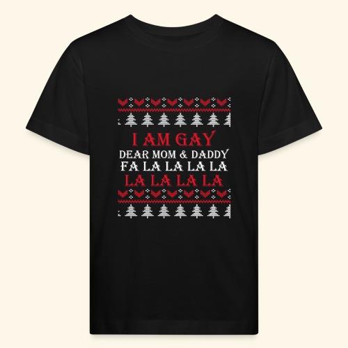 Gay Christmas sweater - Ekologiczna koszulka dziecięca