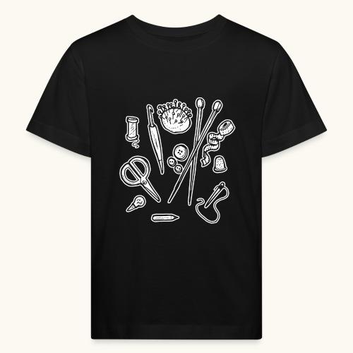 Handarbeiten lustiges Hobby Werkzeuge Geschenk - T-shirt bio Enfant